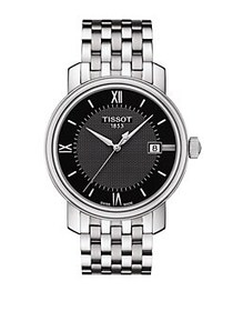 Tissot Mens Bridgeport Stainless Steel Bracelet Wa