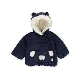 Quiltex Baby Boys' Sherpa Bear Insulated Jacket