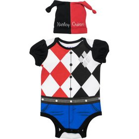 Suicide Squad Harley Quinn Baby Girls' Costume Bod