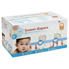 Honest Company Baby Diapers, Size 1, Balloons & Mu