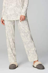 Dream Supima® Lace-Trimmed Pants