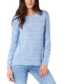 NY Collection Womens Petites Confetti Knit Space D