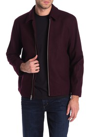 Jack Victor Reid Wool Blend Laydown Jacket