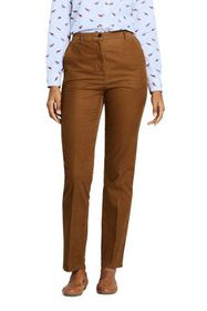 Lands End Women's 7 Day Elastic Back Corduroy Pant