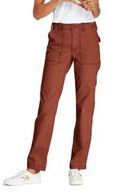 Lands End Women's Mid Rise Field Chino Pants