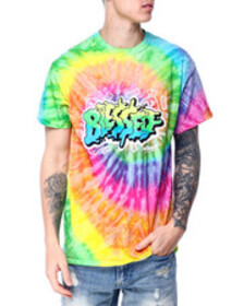 OUTRANK blessed tie dye tee