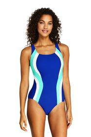 Lands End Women's Chlorine Resistant Square Neck O