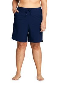 "Lands End Women's Plus Size Comfort Waist 9"" Board"