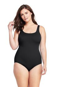 Lands End Women's Plus Size Mastectomy Tugless One