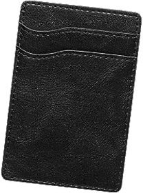 Men's Wearhouse Black Adhesive Card Case