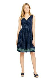 Lands End Women's Fit and Flare Dress