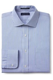 Lands End Men's Tailored Fit Pattern No Iron Supim