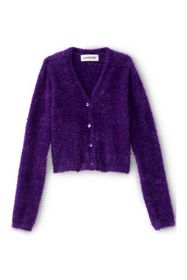 Lands End Girls Cozy V-Neck Cardigan
