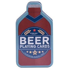 Sterling Beer Playing Cards