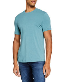 Giorgio Armani Men's Stretchy Crewneck T-Shirt