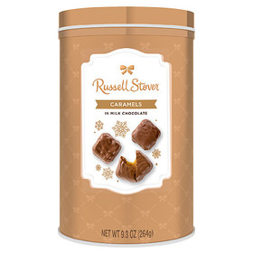 Russell Stover Fine Christmas Candy Caramels in Mi