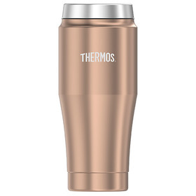 Thermos Stainless Steel Travel Tumbler Rose Gold