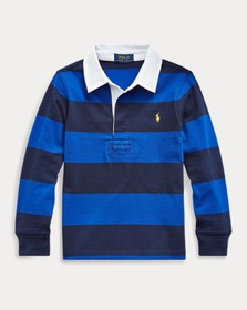 Boys 2-7 Striped Cotton Rugby Shirt