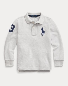 Boys 2-7 Cotton Mesh Polo Shirt
