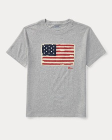 Boys 2-7 Flag Cotton Jersey T-Shirt