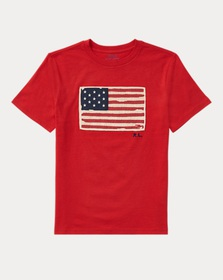 Boys 8-20 Flag Cotton Jersey T-Shirt