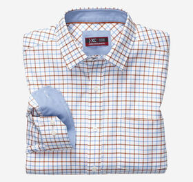 Johnston Murphy XC4® Link Windowpane Point-Collar