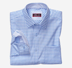 Johnston Murphy XC4® Tonal Grid Check Point-Collar
