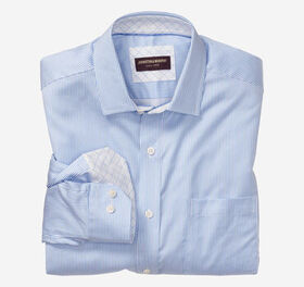 Johnston Murphy Rope Stripe Dress Shirt