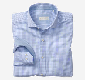 Johnston Murphy Italian Offset Check Dress Shirt