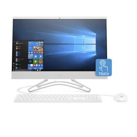 HP 24-F0060 Snow White Touch All in One PC, Intel