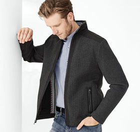 Johnston Murphy XC4® Herringbone Knit Jacket