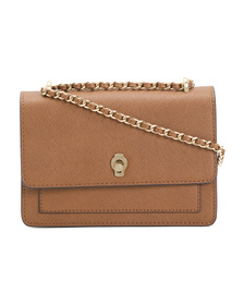 ETIENNE AIGNER Lana Leather Bag With Adjustable Ch