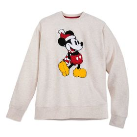 Disney Mickey Mouse Heathered Holiday Pullover for