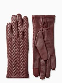 dawn place quilted leather glove