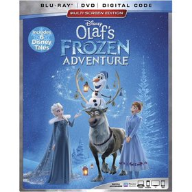 Disney Frozen: Olaf's Frozen Adventure Plus 6 Disn