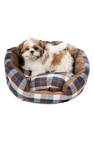 Duck River Textile Hasley Round Pet Bed - Chocolat