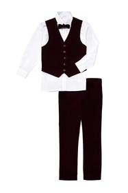 Isaac Mizrahi Velvet 4-Piece Suit (Toddler