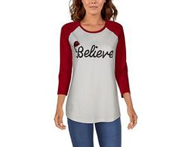 Natural Reflections Three-Quarter-Sleeve Believe B
