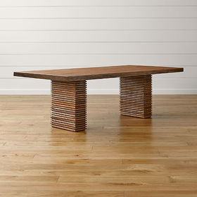 Crate Barrel Paloma II Reclaimed Wood Dining Table