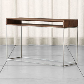 Crate Barrel Frame Console Table