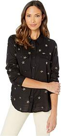 Dylan by True Grit Shadow Stripe Embroidered Stars
