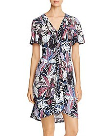 Tommy Bahama - Printed Twist-Front Dress