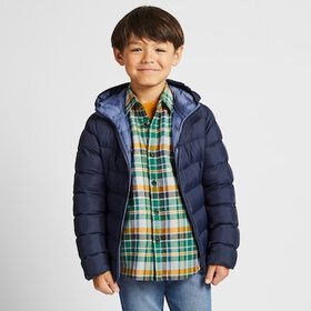 KIDS FLANNEL CHECKED LONG-SLEEVE SHIRT, GREEN, med