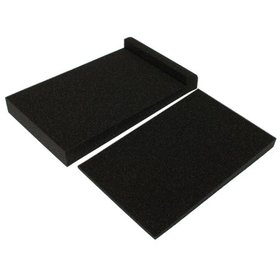 Studio Monitor Speakers Isolation Foam Pads Black
