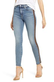 7 For All Mankind Luxe Vintage Side Stripe High Wa