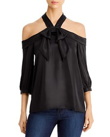 KARL LAGERFELD PARIS - Bow Detail Cold Shoulder To