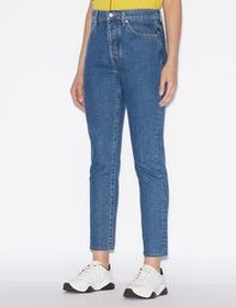 Armani FIVE-POCKET JEANS TAPERED AT THE HEM