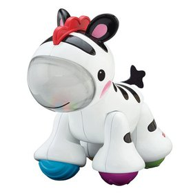 Fisher-Price Zebra Clicker Pal, Sized just right f