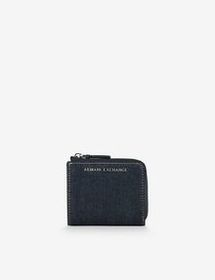 Armani MINI WALLET IN FAUX LEATHER