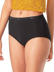 Hanes Women's Cotton Brief Panties 10 Pack